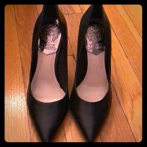 Vince Camuto Classic Black Heels